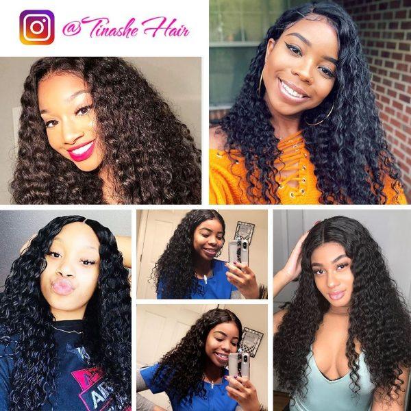 tinashe hair deep wave customer show