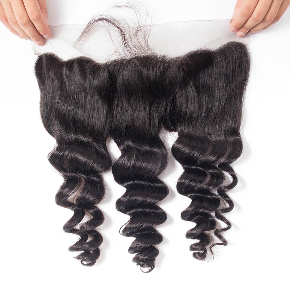 Tinashe hair loose wave frontal lace closure (8)