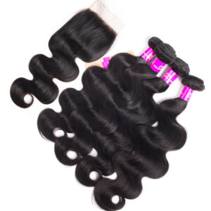 tinashe hair body wave virgin hair with closure