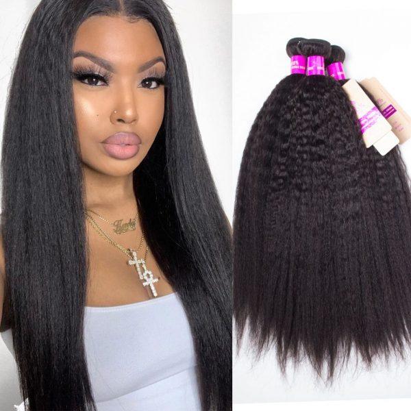 tinashe hair brazilian kinky straight hair 3 bundles