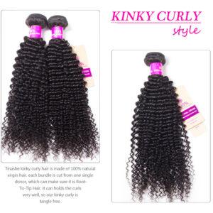 tinashe hair kinky curly hair bundles
