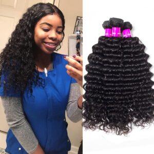 tinashe hair peruvian deep wave 3 bundles