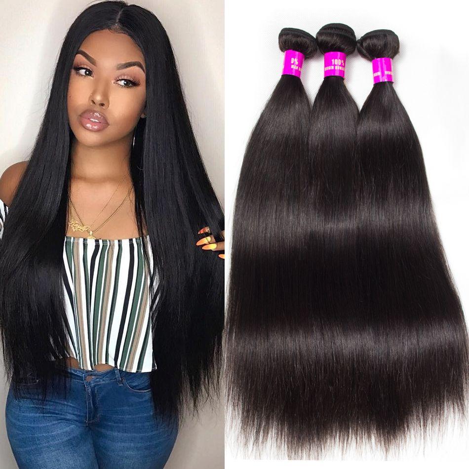 Tinashe Malaysian straight hair 3 bundles