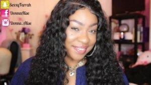 Tinashe hair back to school - deep wave hair