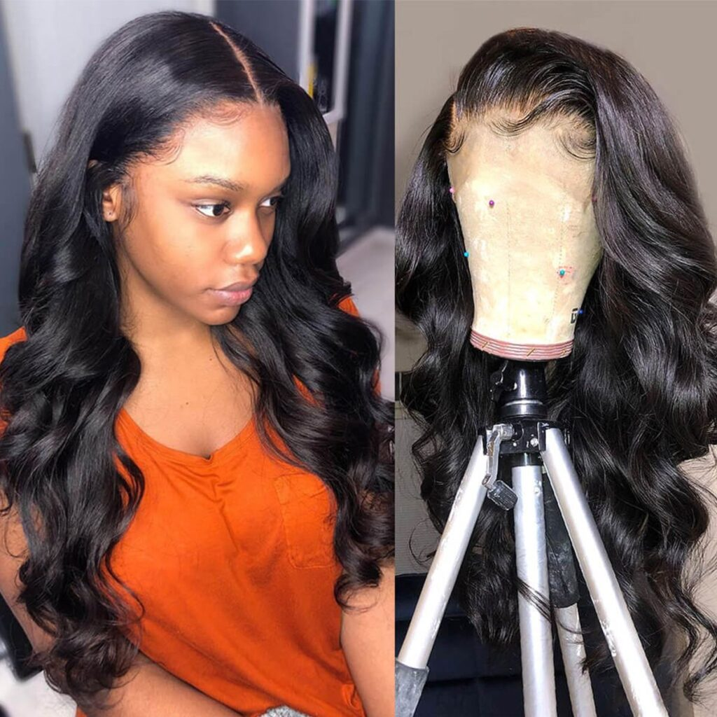 Body-wave-6×6-lace-closure-wig