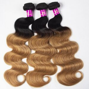 Tinashe hair 1b 27 ombre gloden blonde hair body wave bundles