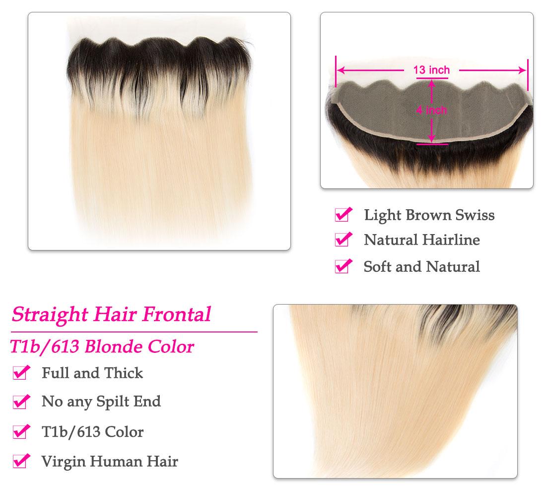 Tinashe hair ombre 1b 613 honey blonde straight hair frontal