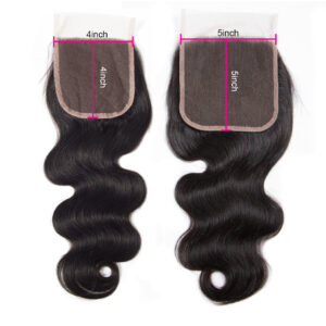 Tinashe hair body wave 5x5 lace closure