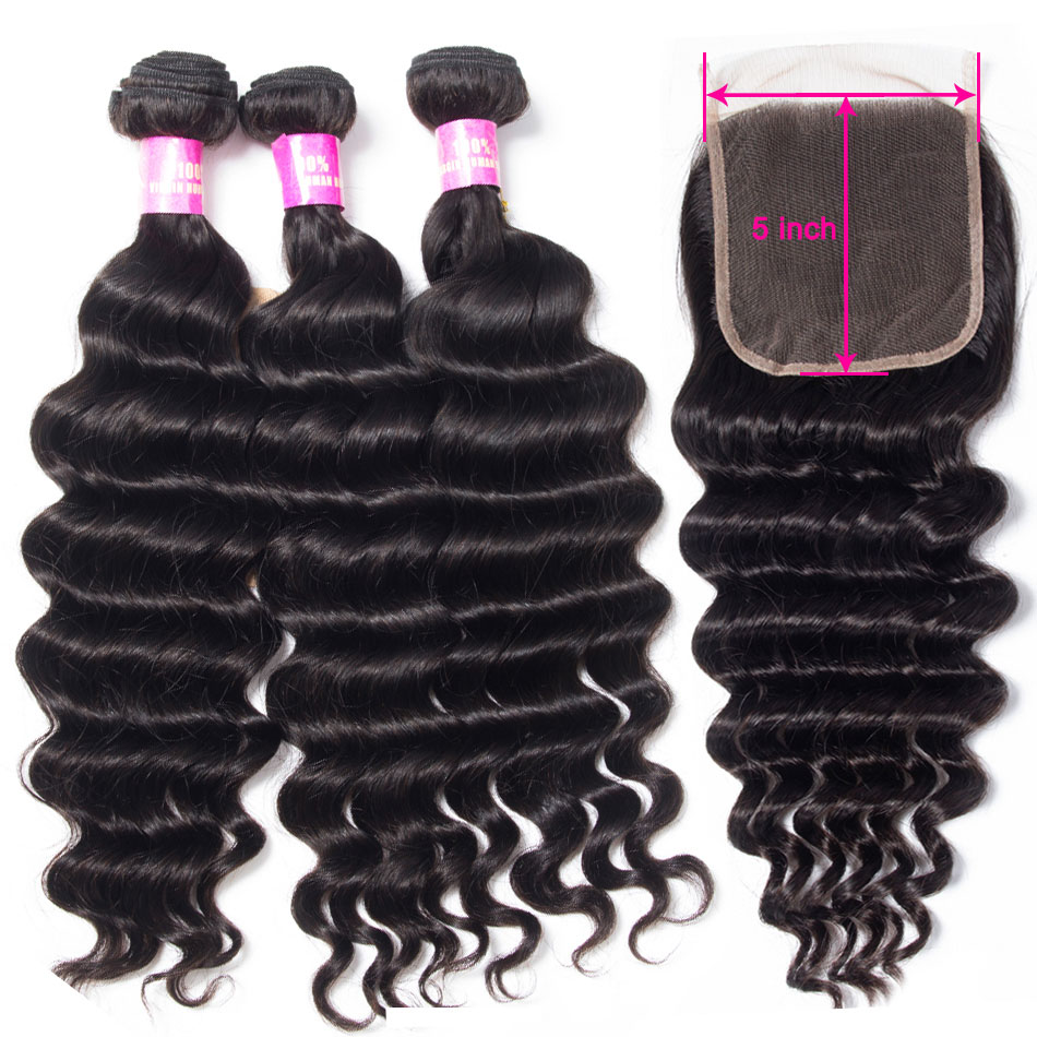 tinashe-hair-loose-deep-5×5-lace-closure-with-bundles