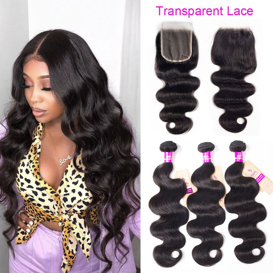 tinashe-body-wave-transparent-lace-closure-with-bundles