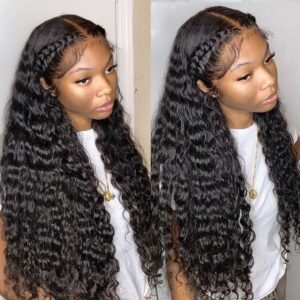 Deep-wave-HD-lace-front-wig
