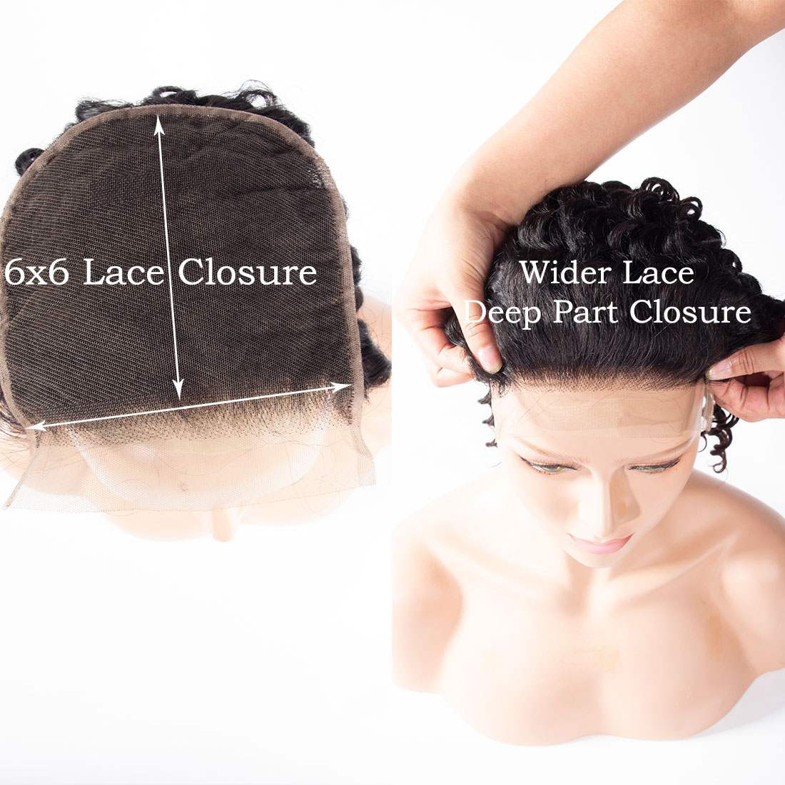 6x6 deep wave closure