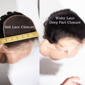 loose deep 6x6 lace closure