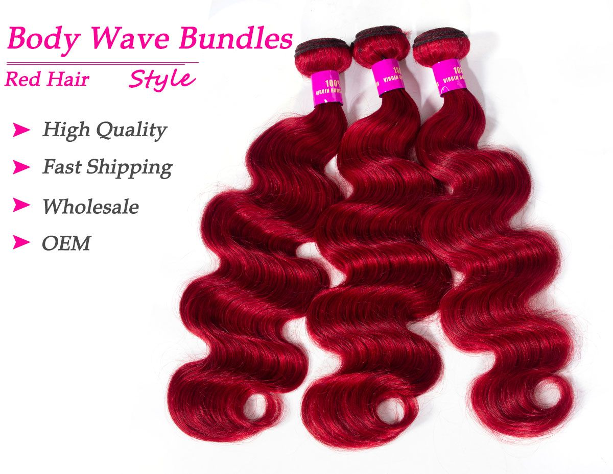 red body wave bundles