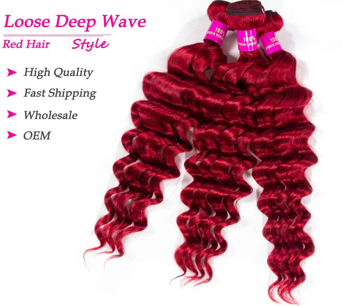 red loose deep bundles