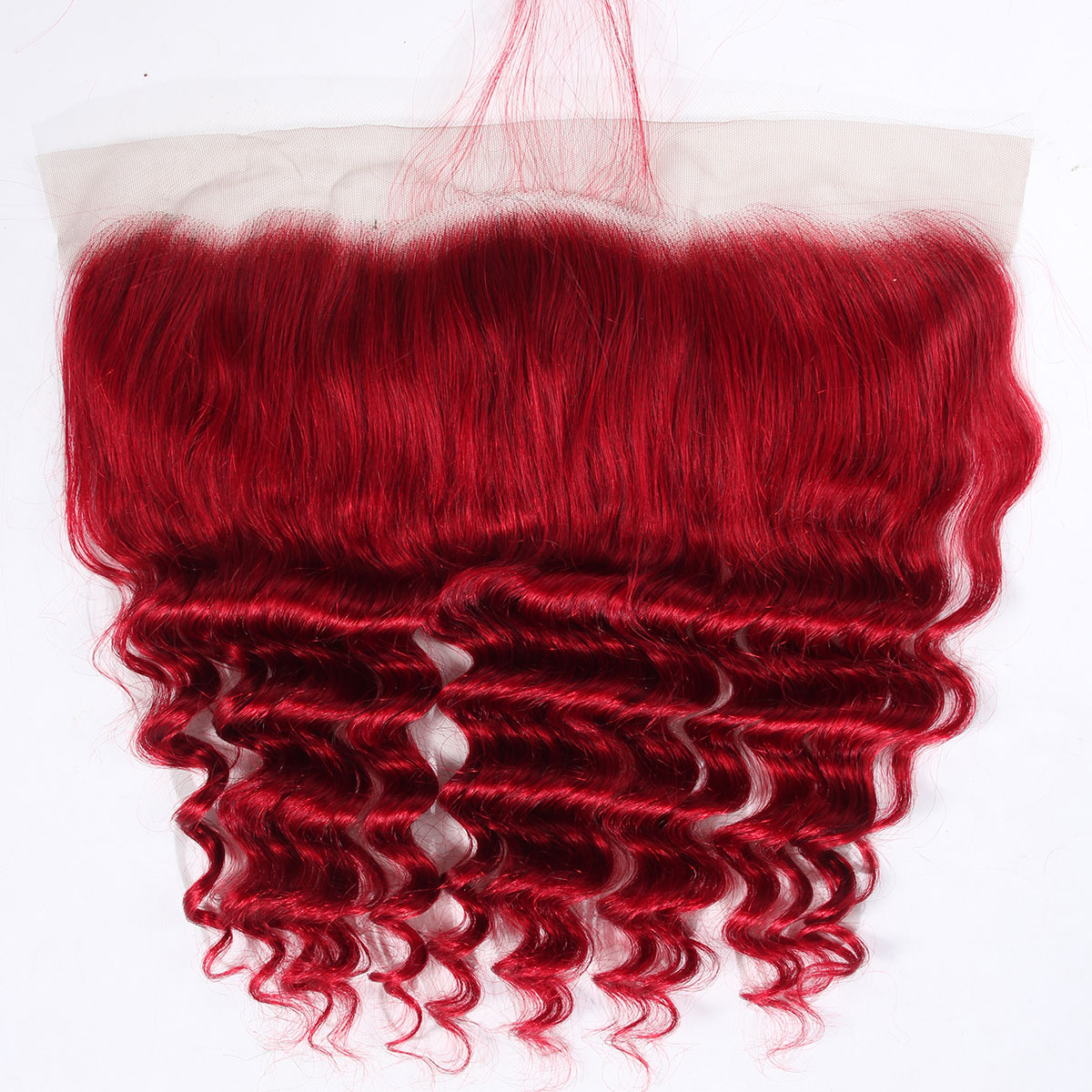 red loose deep frontal