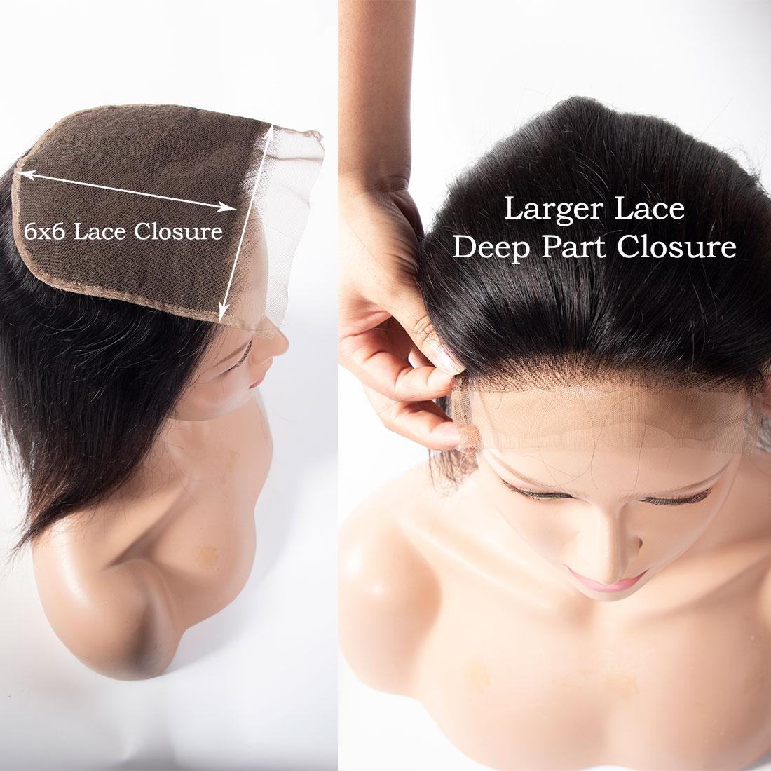 tinashe hair 6x6 straight hair closure (2)
