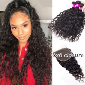 water wave bundles with 6x6 closure
