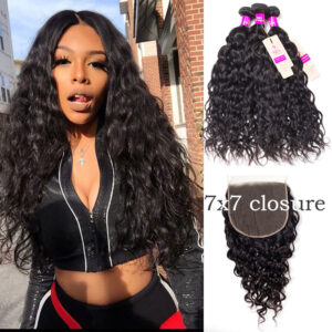 water wave bundles with 7x7 closure