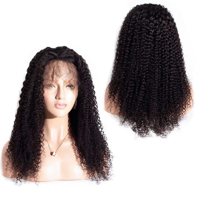 Curly 13x4 lace front wig