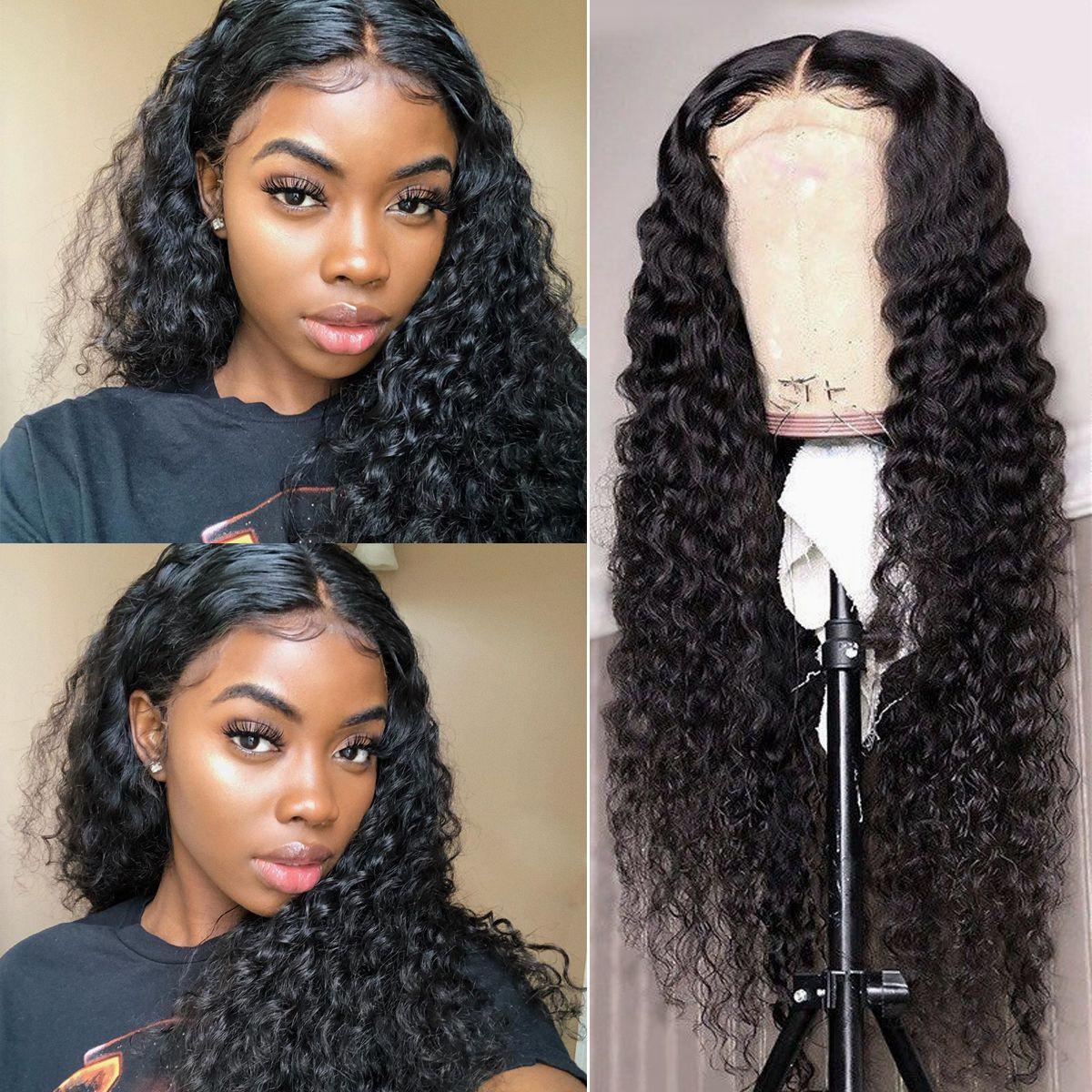 Deep-wave 13x4-wig