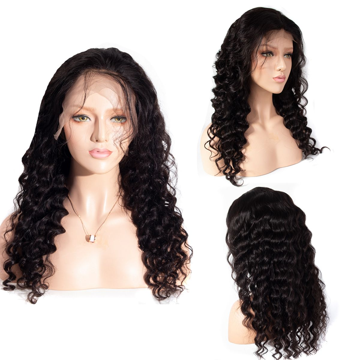 Loose-deep 13x4 lace front wig