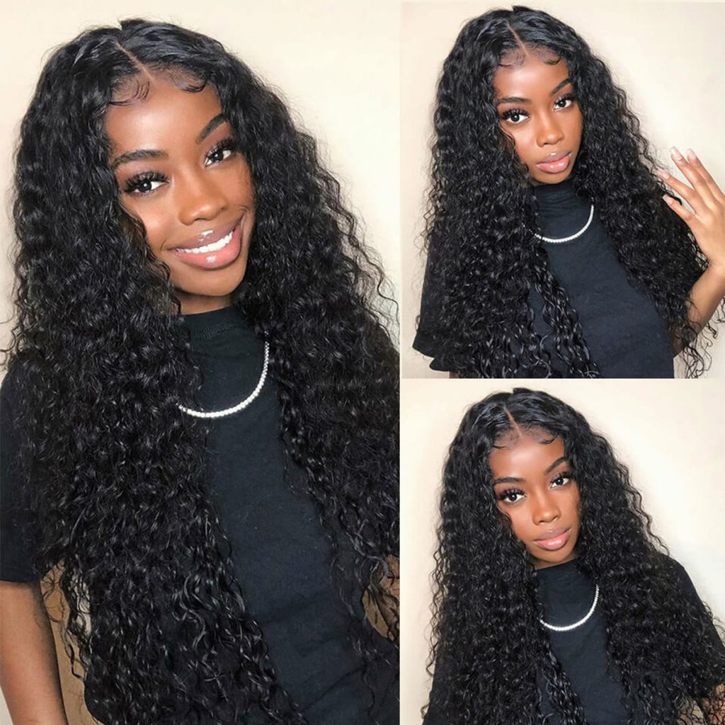 Water-wave-6×6 lace closure wig
