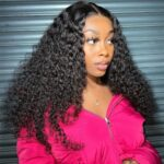 Curly-high-density-lace-wig