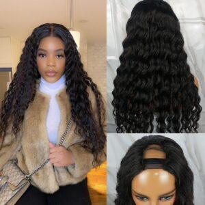 Loose-deep-U-part-wig