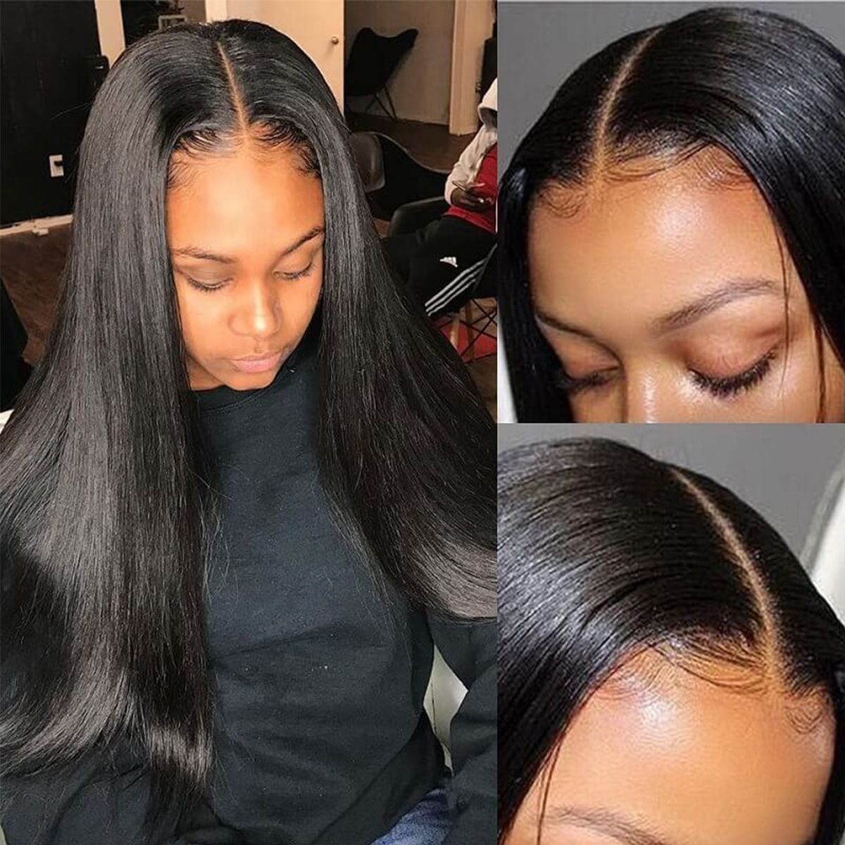 Straight-HD-5x5 lace-closure-wig
